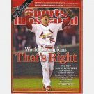 Sports Illustrated November 6 2006 Magazine Cardinals DAVID ECKSTEIN MVP Michael Strahan