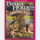 BETTER HOMES and GARDENS December 1988 Magazine Volume 66 No 12
