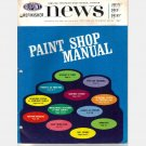 DUPONT REFINISHER NEWS 1965 No 155 MAGAZINE Paint Shop Manual LUCITE DUCO DULUX