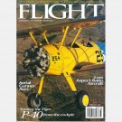 FLIGHT February 1997 Magazine Low Aspect Ratio Aircraft Tiger P-40 Rutan Boomerang Curtis P-40E