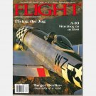 FLIGHT April 1997 Magazine A10 WARTHOG Jug V-1 Fairchild 71 Republic P-47D T-6 Camera ship