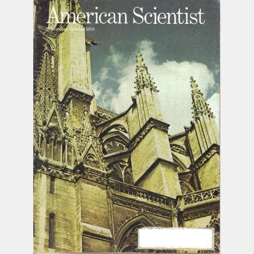AMERICAN SCIENTIST September October 1978 Dust Bowl Bushveld Complex Gothic Architecture Tachyons
