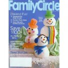FAMILY CIRCLE January 2006 Magazine Scrapbooking QUICK BUSCUITS Meringue Snow People