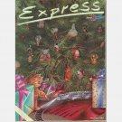 AMTRAK EXPRESS December 1981 Under the Tree Jay Vigon Margo Nahas Alexander Gudanov