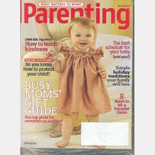 Parenting December 2006 January 2007 Dec Jan Magazine