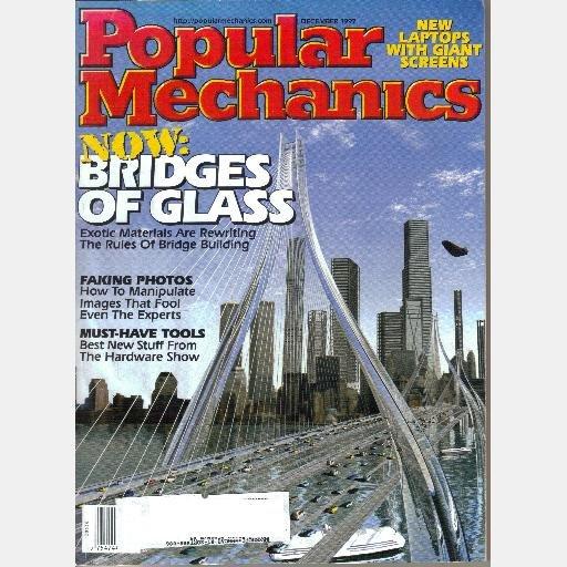 POPULAR MECHANICS December 1997 Bridges of Glass NASA Antigravity machine Dinosaur Dung