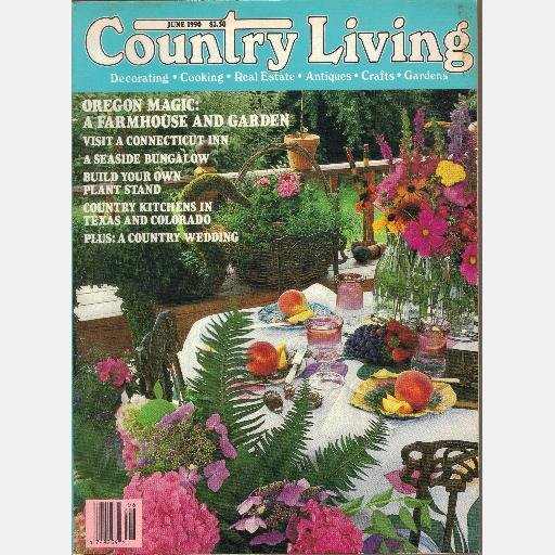 COUNTRY LIVING June 1990 Cobble Hill Farm Ann Voyles Berret Jay Johnson Rubens Teles Ophelia Clise