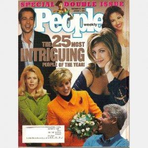PEOPLE WEEKLY December 25 1995 January 1 1996 JEN ANISTON BRAD PITT NICOLE KIDMAN