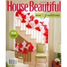HOUSE BEAUTIFUL December 2008 Magazine Allasandra Branca Cashiers NC Mountain House Phoebe Howard