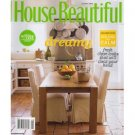 HOUSE BEAUTIFUL August 2008 Magazine Branca Trompe l'oeil Tom Scheerer East Hampton