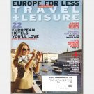 TRAVEL + LEISURE April 2009 Magazine Venice Provence Norway Baltic Coast London Madrid Paris