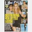 LIFE & STYLE Weekly September 28 2009 Magazine Lindsay Lohan Ali Destroying Sister Patrick Swayze