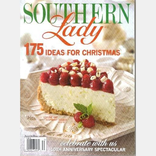 SOUTHERN LADY November December 2009 Magazine Charla Hayden Kathy Cate Hoffman Media