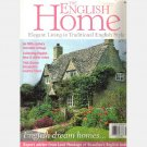 THE ENGLISH HOME August 2002 No 15 Magazine Blue White China Caryl Mumby Crows Nest Cottage