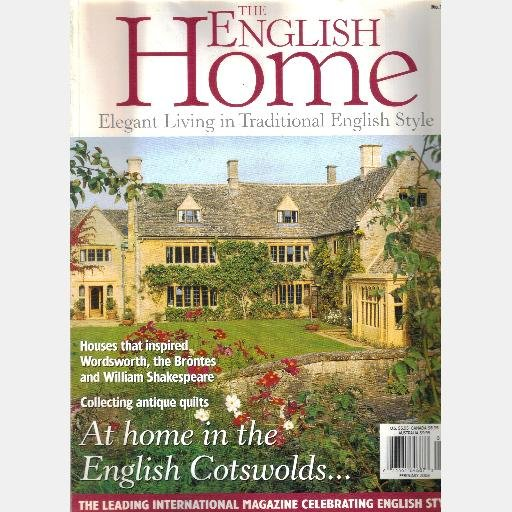 THE ENGLISH HOME February 2003 No 18 Magazine William Morris Beacon House Christin Phil Briggs
