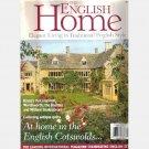 THE ENGLISH HOME February 2003 No 18 Magazine William Morris Beacon House Christin Phil Briggs