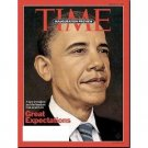 TIME January 26 2009 Magazine Barack Obama inauguration Preview GREAT EXPECTATIONS