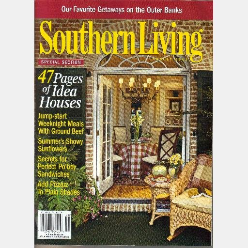 SOUTHERN LIVING August 2002 Magazine Outer Banks Dolphins Doug Blevins Deborah Balter