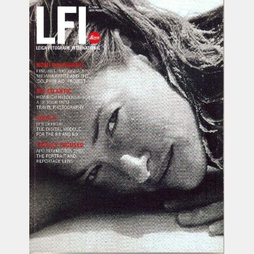 LFI Leica Fotografie International 5 2003 July August Heinrich Heidersberger Nomi Baumgartl
