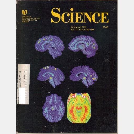 SCIENCE 26 January 1996 Vol 271 Magazine Modified Microbe TB Vaccine Thiyl Radicals Th-Pb U-Pb