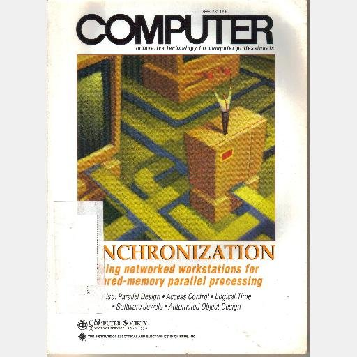 COMPUTER February 1996 Magazine IEEE Synchronization Networked Workstations Shared-Memory Parallel