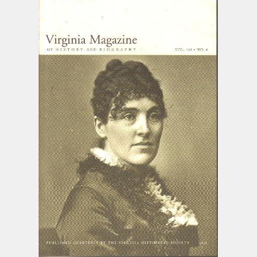 Virginia Magazine History and Biography Vol 116 No 4 2008 Alexander Von Humboldt Jefferson