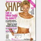 SHAPE April 2000 Magazine SARAH O'HARE MURDOCH Cover