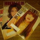 MODERN SALON magazine lot of 3 issues 1996 Hair Styling Vance Publications