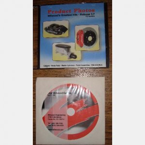 Wilwood Greatest Hits 2006 catalog CD photos Racing Brake parts