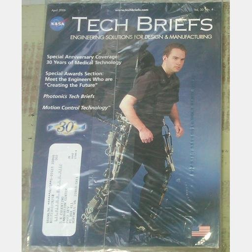 NASA Tech Briefs April 2006 Vol 30 No 4 magazine Medical Technology Photonics
