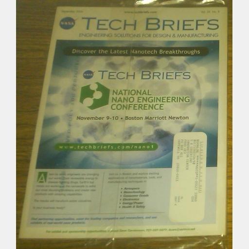NASA Tech Briefs September 2006 Vol 30 No 9 magazine Nano Engineering Conference