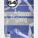 64 Magazine December 2001 Josh Darden Mother Regina Ben Campbell John Purnell Thomas Cannon