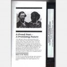 HISTORY OF BLACKS IN ONTARIO Proud Past Promising Future VHS Black History Society Ontario 1986