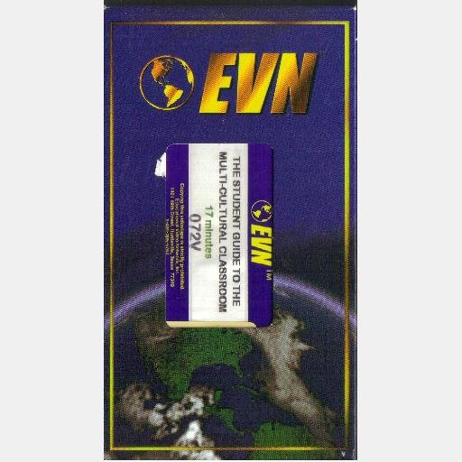 THE STUDENT GUIDE TO THE MULTICULTURAL CLASSROOM EVN 072V VHS Video