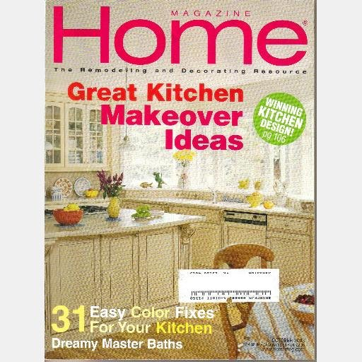 HOME October 2003 magazine Jan Roger Treese John Marie Queen Hillary Bill Weldon Bay Head NJ