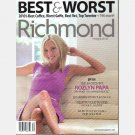 RICHMOND Magazine August 2010 BEST WORST ROZLYN PAPA Defines Inappropriate Patrick Henry
