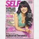 SELF Magazine July 2011 ZOOEY DESCHANEL cover