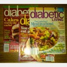 DIABETIC LIVING magazine LOT 3 issues 2009 2010