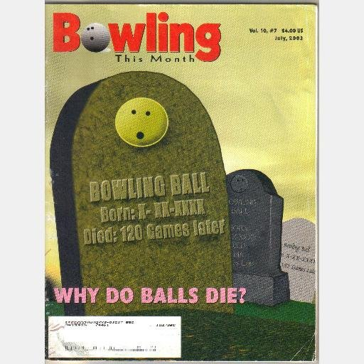 BOWLING THIS MONTH JULY 2003 Vol 10 Denny Torgerson Bill Taylor Rolf Gauger Susie Minshew