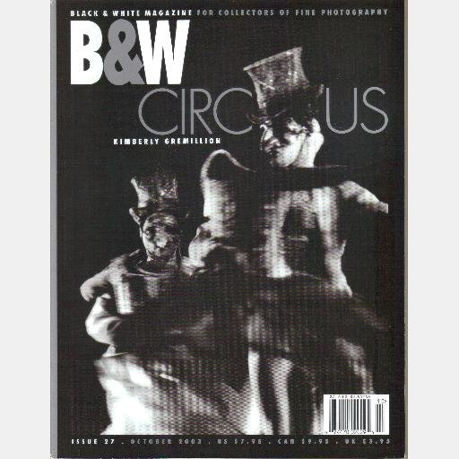 B&W Black & White 27 October 2003 Richard Kagan KIMBERLY GREMILLION Fred Stein ANDERSON & LOW
