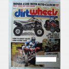 DIRT WHEELS DIRTWHEELS October 2004 YFZ450 Predator 500 Honda 450R FT 500R