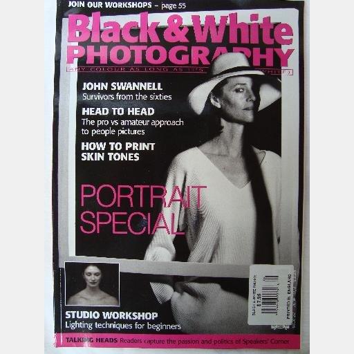 BLACK & WHITE PHOTOGRAPHY June 2003 no 22 Charlotte Rampling JOHN SWANNELL Andrew White