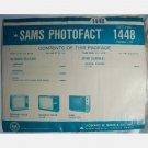 SAMS PHOTOFACT 1448 December 1975 Coronado TV6-1741A Sears 562.50410300 562.51160300 562.51350300