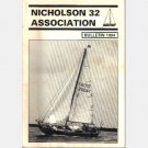 NICHOLSON 32 ASSOCIATION BULLETIN LOT of 14 ISSUES 1991 1993 1994 1995 1996 1997 1998 2006