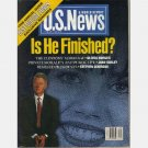 US News & World Report February 2 1998 BILL CLINTON IS HE FINISHED Monica POPE JOHN PAUL II in CUBA