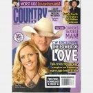 COUNTRY WEEKLY August 25 2008 Garth Trisha Yearwood Alan Denise Jackson Julianne Hough