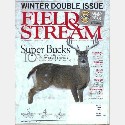 FIELD & STREAM December 2004 January 2005 Super Bucks