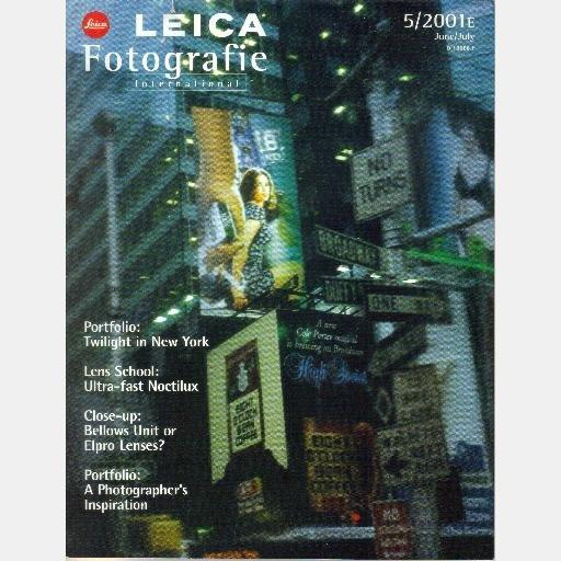 Leica Fotografie International June July 5 2001E Noctilux Ursula Hillmann Ladislav Drezdovicz