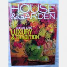 HOUSE & GARDEN September 2001 Anthony Ingrao Nial Hobhouse Charles de Greer Caetani Gardens