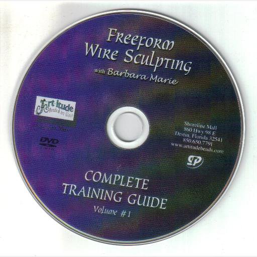 Freeform Wire Sculpting with Barbara Marie DVD 2004